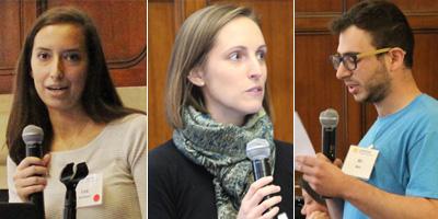 Lea Sarment, Kathryn Melvin, & Ari Weil