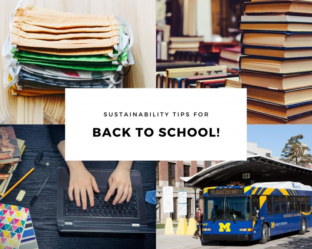 Sustainability Tips for Back to School